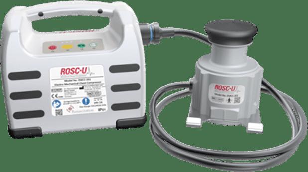 ROSC-U. Mini mechanical CPR chest compressor
