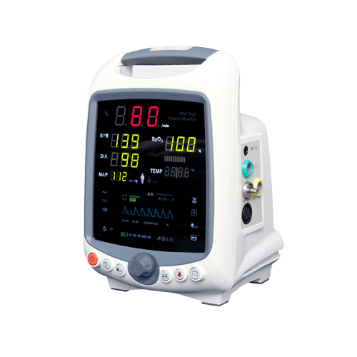 Diona patient monitor. Patient monitors are part of Medical Monitoring and provide medical stuff with non-stop patient care. Patient Monitors are mobile and can be used in every circumstance.