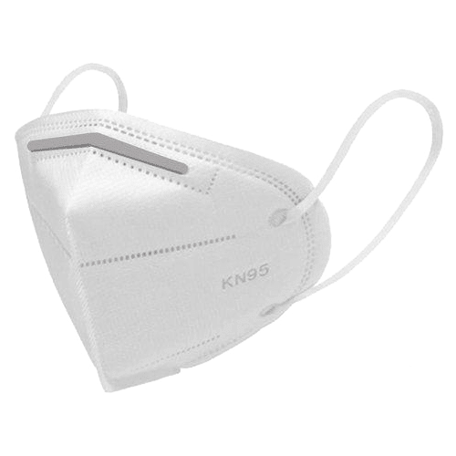 kn95 mask, Colour White. coronavirus mask, Filtration efficacy of PM2.5 ≥99%