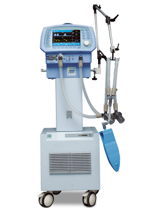 Ventilator Machine Biyovent. A machine that breathes for you if your respiratory pathways have been blocked in any way (because of an accident, pneumonia, etc).