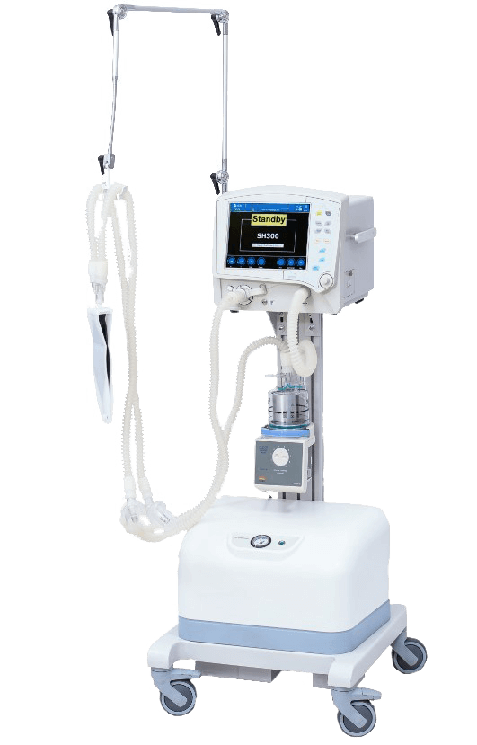Ventilator Machine Eternity SH300. A machine that breathes for you if your respiratory pathways have been blocked in any way (because of an accident, pneumonia, etc).