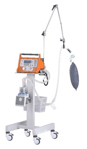 Ventilator Machine ACM812A. Ventilator Machine Evita Infinity 500. A machine that breathes for you if your respiratory pathways have been blocked in any way (because of an accident, pneumonia, etc).