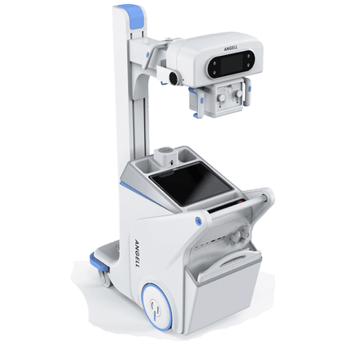This Digital Mobile X-ray Radiographic System was designed to overcome the obstacles of different terrains and extend the services of a sophisticated DR System even to remote areas.