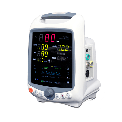 """IRIS is Vital Signs Monitors. With IRIS patient monitors you will be able to receive patient data instantly and securely regardless of the location. Extremely portable. 3.2"""" TFT LCD display. Highly adjustable."""
